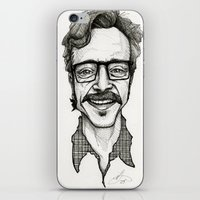marc jacobs iPhone & iPod Skins featuring Marc Maron by Simone Bellenoit : Art & Illustration