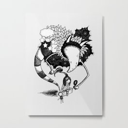 Imaginary Fiend Metal Print