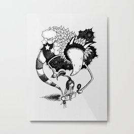 Imaginary Fiend Metal Print