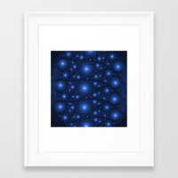 starry night Framed Art Prints featuring Starry Starry Night by Lyle Hatch