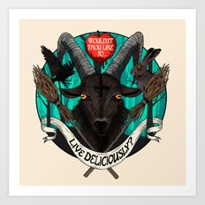 Black Phillip (The Witch) Art Print