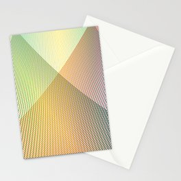 Gradient Strings Stationery Cards
