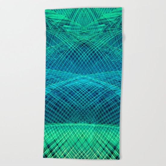 colorful dreams Beach Towel