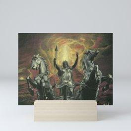 Boudica & Vesuvius Mini Art Print