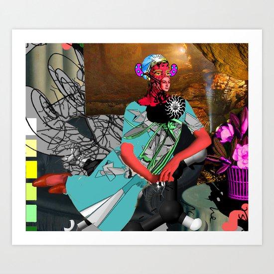 jellybean mistress Art Print