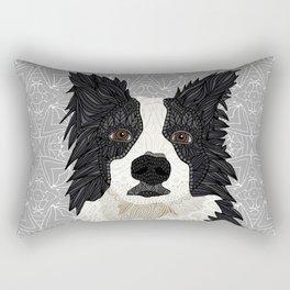 Beautiful Border Collie Rectangular Pillow