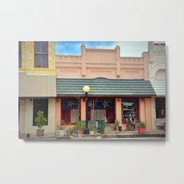 Old Brick Building Metal Print