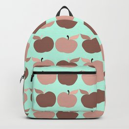apples, apples, pretty apples pink and blue Backpack
