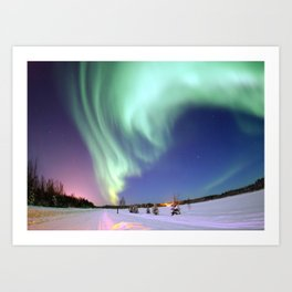 Northern Lights of Alaska Photograph Art Print