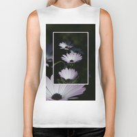 daisy Biker Tanks featuring DAISY by Rebeca Zum