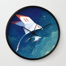 Flyby Wall Clock