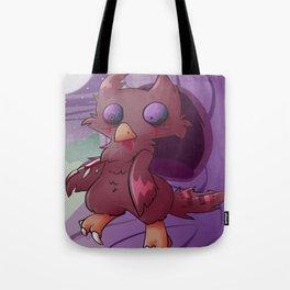 owl zombie  Tote Bag