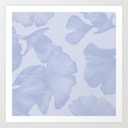 Ginkgo Leaves Art Print