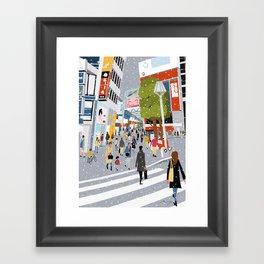 Kichijoji Framed Art Print