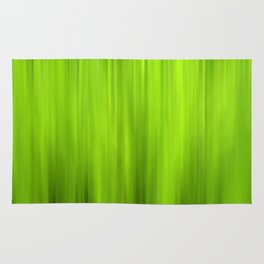 green grass abstract VII Rug