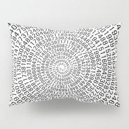 Pi - white Pillow Sham