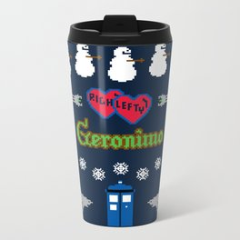 Ugly Christmas Special Metal Travel Mug