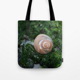 Shell on Moss Tote Bag