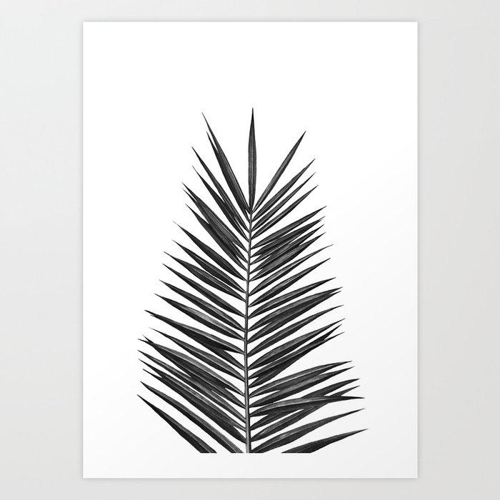 Palm Leaf Art Print By Nikaakin Society6