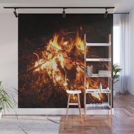 Bonfire Wall Mural