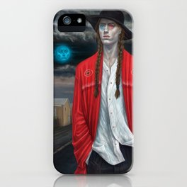 September (Moth Man) iPhone Case