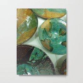 Afghan Pottery 1 Metal Print