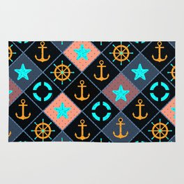 For those who are at sea. Rug