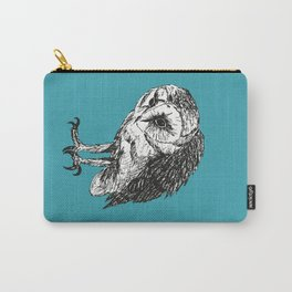 Barn owl pen drawing Carry-All Pouch