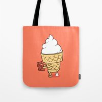 ilovedoodle Tote Bags featuring Everyone Poops by ilovedoodle by I Love Doodle
