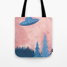 Unidentified Flying Object Tote Bag