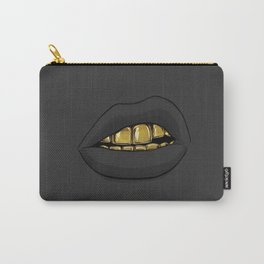 goldin teeth mouth 4 Carry-All Pouch