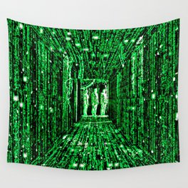 Free The Mind Neo Matrix Wall Tapestry