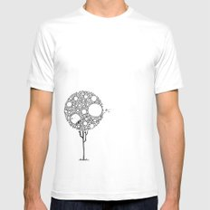In my tree  Mens Fitted Tee White MEDIUM