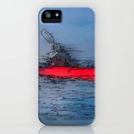 Wilderness Kayaker iPhone Case