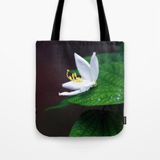 drop that flower Tote Bag