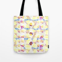 scales Tote Bags featuring Scales by Rachel Clore