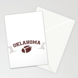 Just a Baller from Oklahoma Football Player Stationery Cards