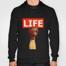 kick life back Hoody