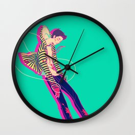 puppet on a string Wall Clock