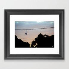 Melbourne Sole Framed Art Print