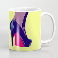 shoe Mugs featuring Shoe by Giuseppe Cristiano