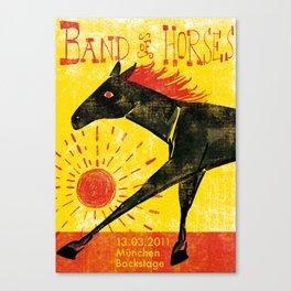 Band of Horses Canvas Print