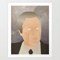 christopher walken Art Prints featuring Walken by Jake Jones