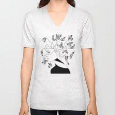 Figments II (Head Full of Broken Realities) Unisex V-Neck