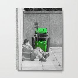 Clean Sweep Metal Print