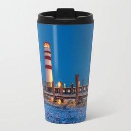 Lighthouse Dock Travel Mug