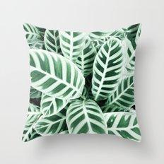 Wild leaf Throw Pillow