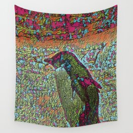Abstract Penguin Wall Tapestry