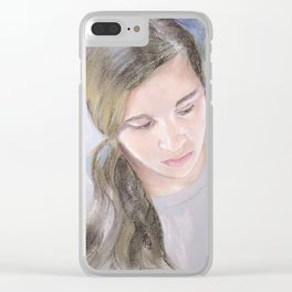 Rachel Clear iPhone Case