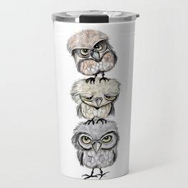 Owl Totæm Travel Mug